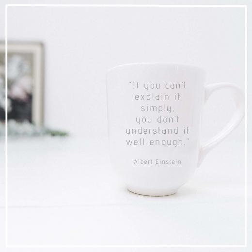 Nummer 21 tekstschrijver & fotograaf Albert Einstein quote